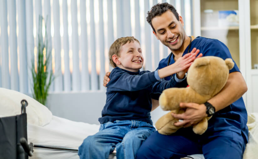 Home care for the Blind Kid